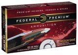 FEDERAL AMMUNITION: 25-06 Rem 110gr Nosler Accubond 20/Box Medium Game