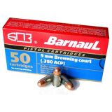 Barnaul Ammo .380 Auto 94GR FMJ - Box of 50