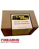 CamPro Bullets - 9mm, 124gr, FCP, RN, Case of 1000