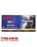 CCI Maxi-Mag MeatEater Series - .22WMR, 40gr, JHP, Box of 200 [958ME]
