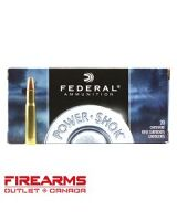 Federal Power-Shok - .30-30 Win., 150gr., SP, FN, Box of 20 [3030A]
