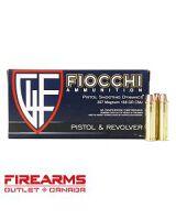 Fiocchi Ammunition - .357 Mag., 158gr, CMJ-FP, Box of 50 [357GCMJ]