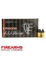 Fiocchi Heritage Ammunition - .455 Webley, 262gr, LRN, Box of 50 [455A]