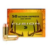 FEDERAL FUSION 50 AE AMMUNITION 20/BOX