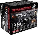Winchester Supreme Elite 454 Casull Ammunition 260 GR Dual Bond Box of 20