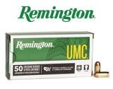 Remington UMC 25 Auto 50 gr. Ammunitions