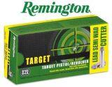 Remington Target Pistol/Revolver 38 S&W 146gr. Ammo