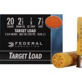Federal Top Gun Ammunition 20 Gauge 2-3/4″ 7/8 oz #8 Shot