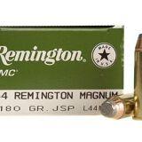 Remington UMC Ammunition 44 Rem Mag 180g JSP Box 50rds