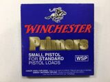 Winchester Small Pistol Primers Box of 100