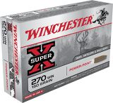 Super-X Power-Point .270 WIN cal Ammunition - 150 gr- 20/Box