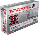 Super-X Power-Point 7 mm REM MAG cal Ammunition - 150 gr- 20/Box